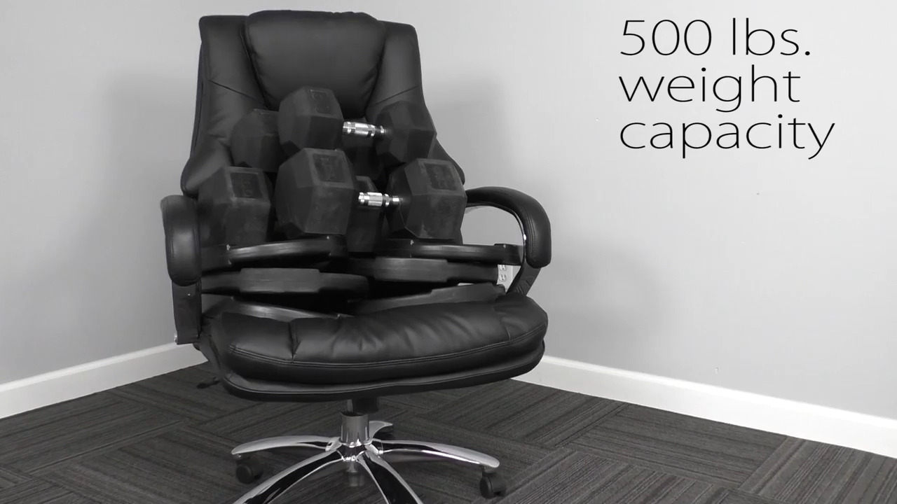 Big Tall Extra Wide Office Chair 28 W Holds 500 Lb