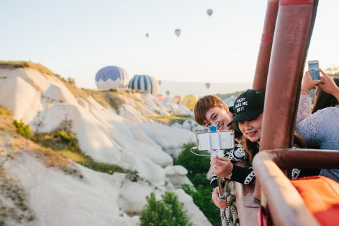 Hot Air Balloon Flight Over the Fairy Chimneys in Cappadocia