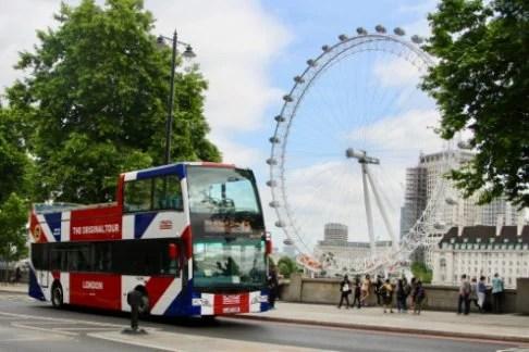 London Eye + Original London Sightseeing Tour