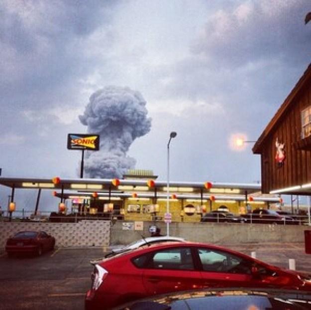 Plant Explosion-Texas