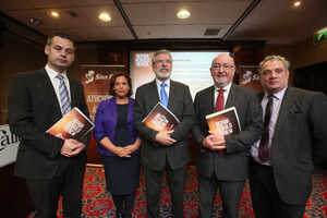 Image result for Sinn Féin TD Mary Lou McDonald said ministers were in line for rises worth €12,000 over three years.