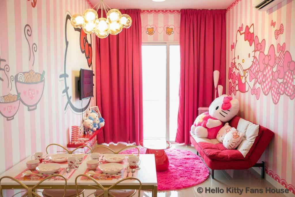 Apartment Hello Kitty Fans House Kuala Lumpur Malaysia Booking Com