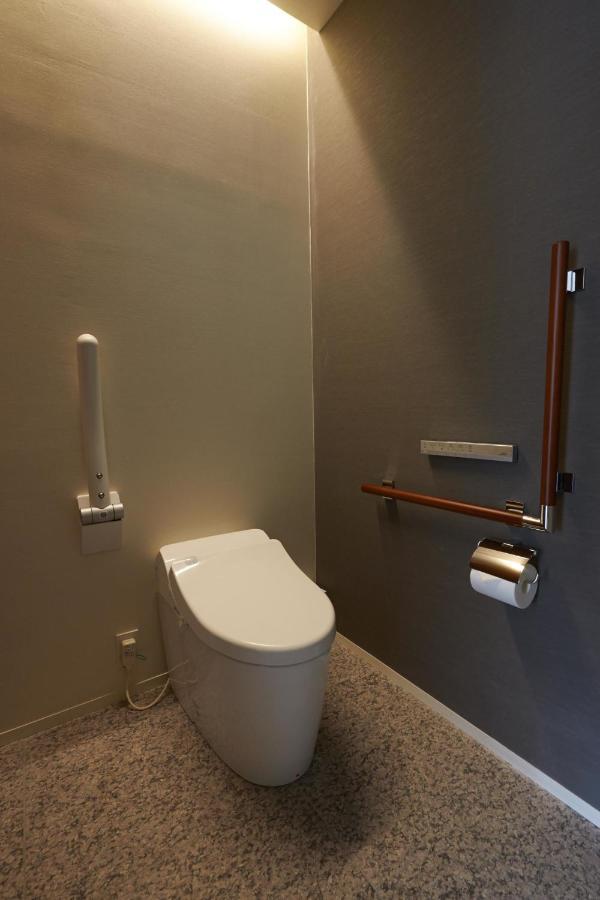 【箱根ハイランドホテル】バリアフリールームのトイレ