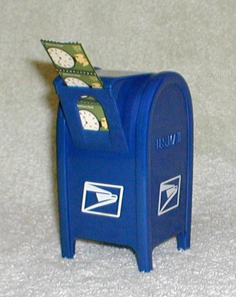 US Mailbox Postage Stamp Dispenser Collectors Weekly