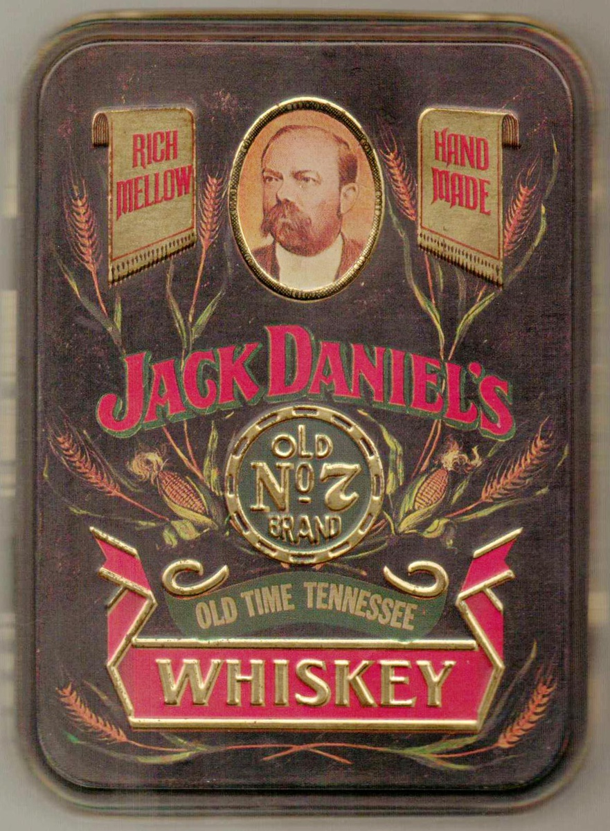 1980s Jack Daniels Whiskey Tin Box Collectors Weekly