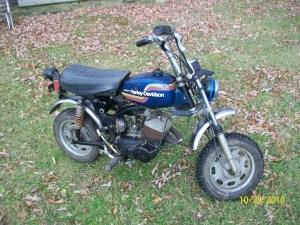 1975 Harley Davidson X  90 Mini Bike   Collectors Weekly