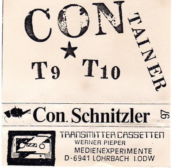 Conrad Schnitzler's