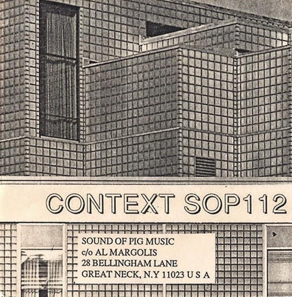 An industrial album by Context, or Stefan Schwab, released by Sound of Pig in 1987. (Via Wet Dreams)