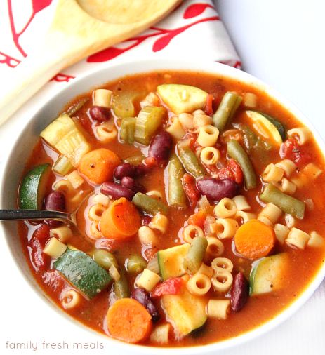 The Best Crockpot Minestrone Soup - FB - The best crockpot minestrone soup