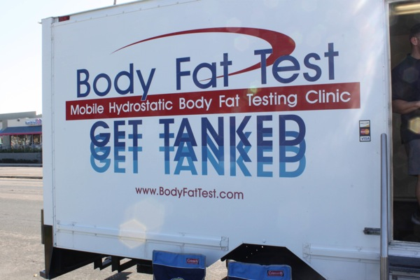 Image result for hydrostatic body fat testing