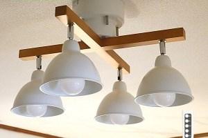 574シーリングライト リモコン 天井照明 LED昼白色付属