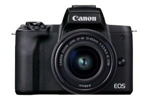 キヤノンミラーレスカメラ EOSKissM2・ レンズキット(ブラック)