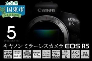 キヤノンミラーレスカメラEOS R5・ボディー