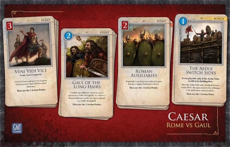 Caesar: Rome vs Gaul - Cartas 2