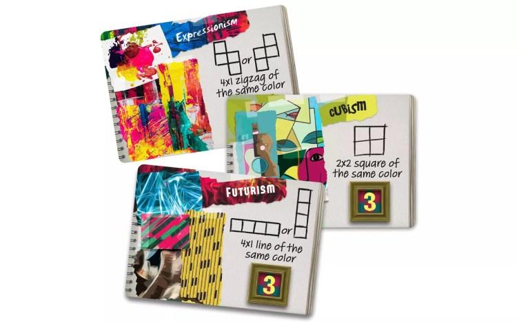 Cartas de Abstract juego de mesa