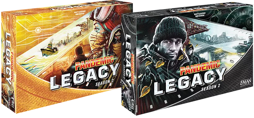 Image result for Pandemic Legacy Season 2