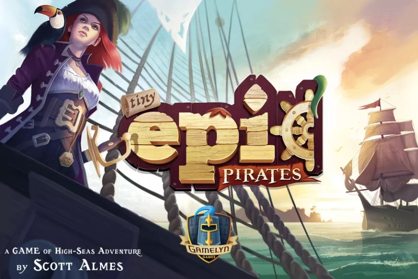 Tiny Epic Pirates Box Cover Art