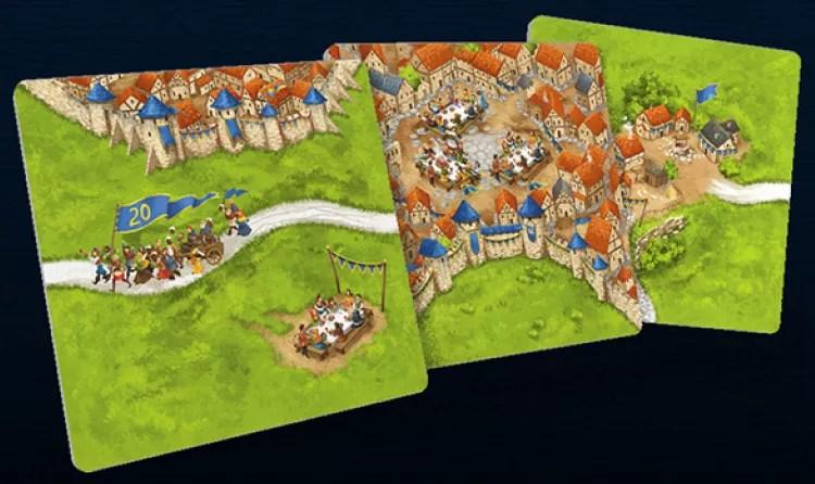 Nuevo aspecto Carcassonne, nuevas losetas