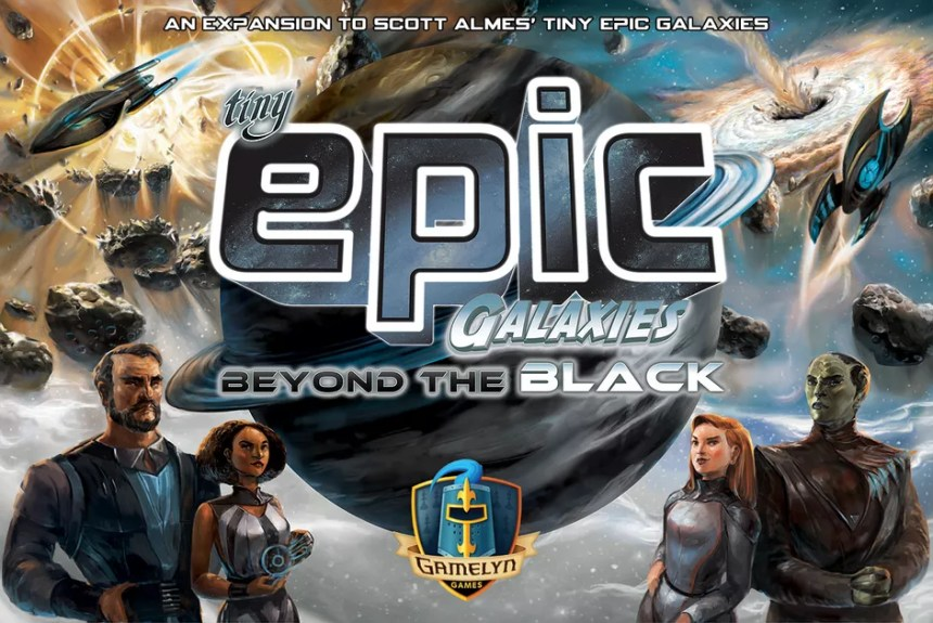 Image result for Tiny Epic Galaxies: Beyond the Black board game