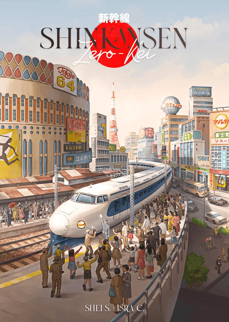 Ludonova SPIEL Essen 2021 - nueva portada Shinkansen