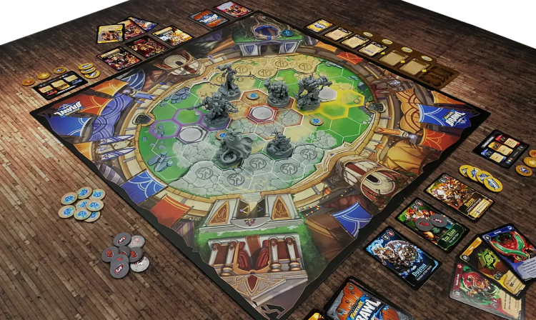 Super Fantasy Brawl regresa a Kickstarter- Mesa