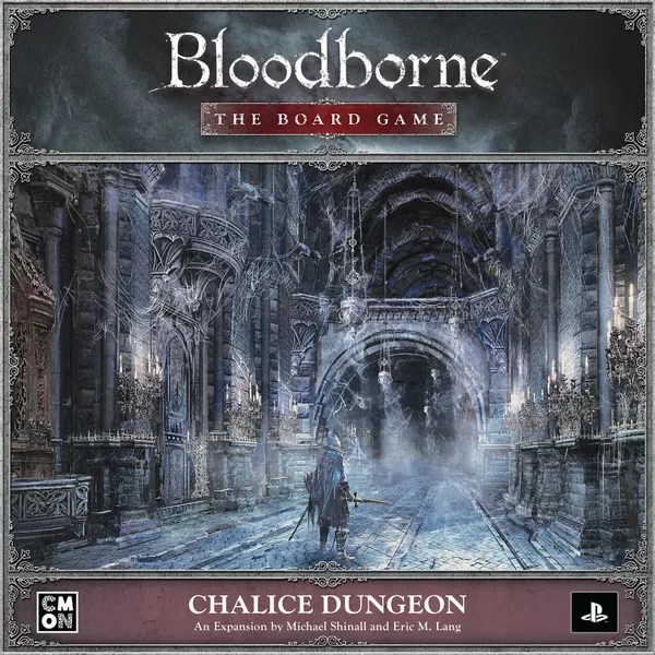 Bloodborne: The Board Game – Chalice Dungeon, CMON Limited, 2021 — front cover (image provided by the publisher)