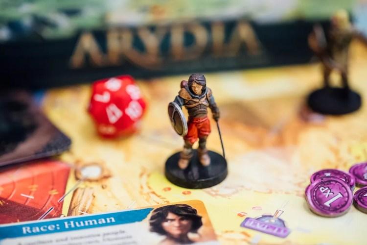 Miniatura y personaje - Arydia
