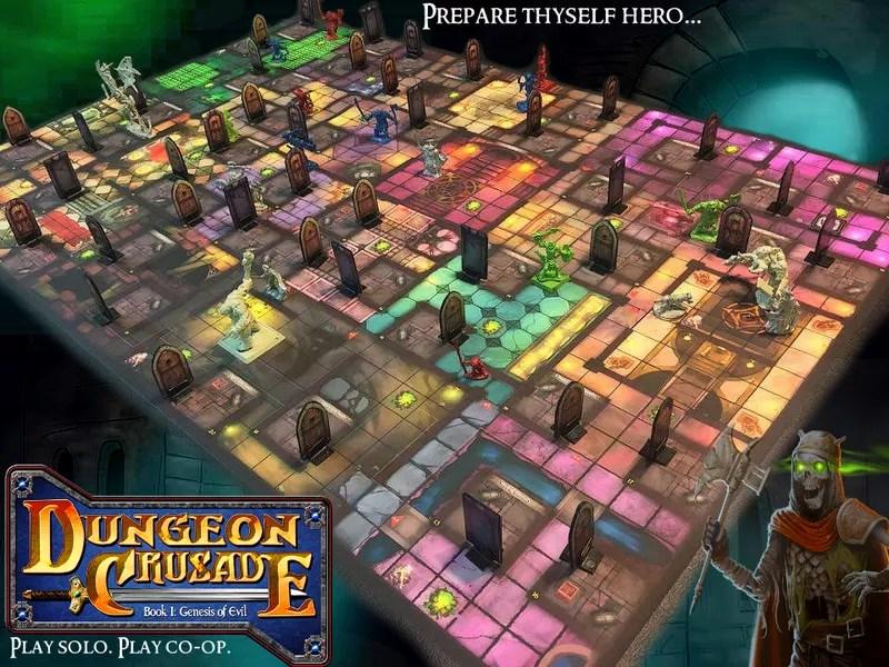 Dungeon Crusade: Book I – Genesis of Evil | Image | BoardGameGeek