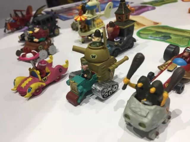 wacky races juego de mesa