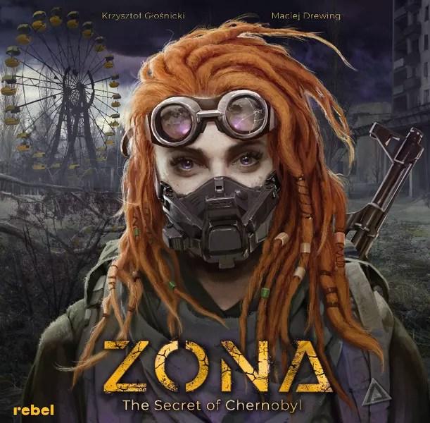 Zona: The Secret of Chernobyl - front