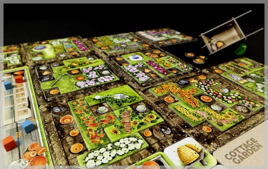 cottage garden juego de mesa