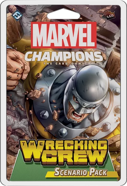 Marvel Champions: The Card Game – The Wrecking Crew Scenario Pack, Fantasy Flight Games, 2020 (image provided by the publisher)