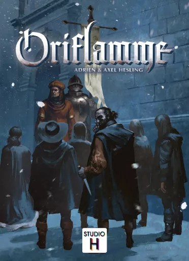 Oriflamme, Studio H, 2019 — front cover