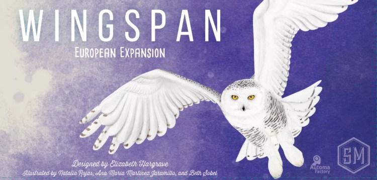 Wingspan Expansión Europea . Portada