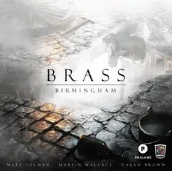 Brass: Birmingham Cover Artwork