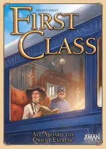 First Class  All Aboard the Orient Express    Board Game   BoardGameGeek Rank