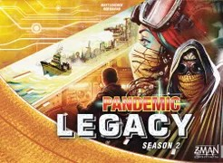 Pandemic Legacy: Season 2 Cover Artwork