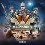 Portada del juego de mesa V-Commandos