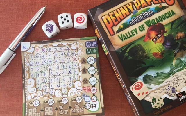 penny papers juego de mesa