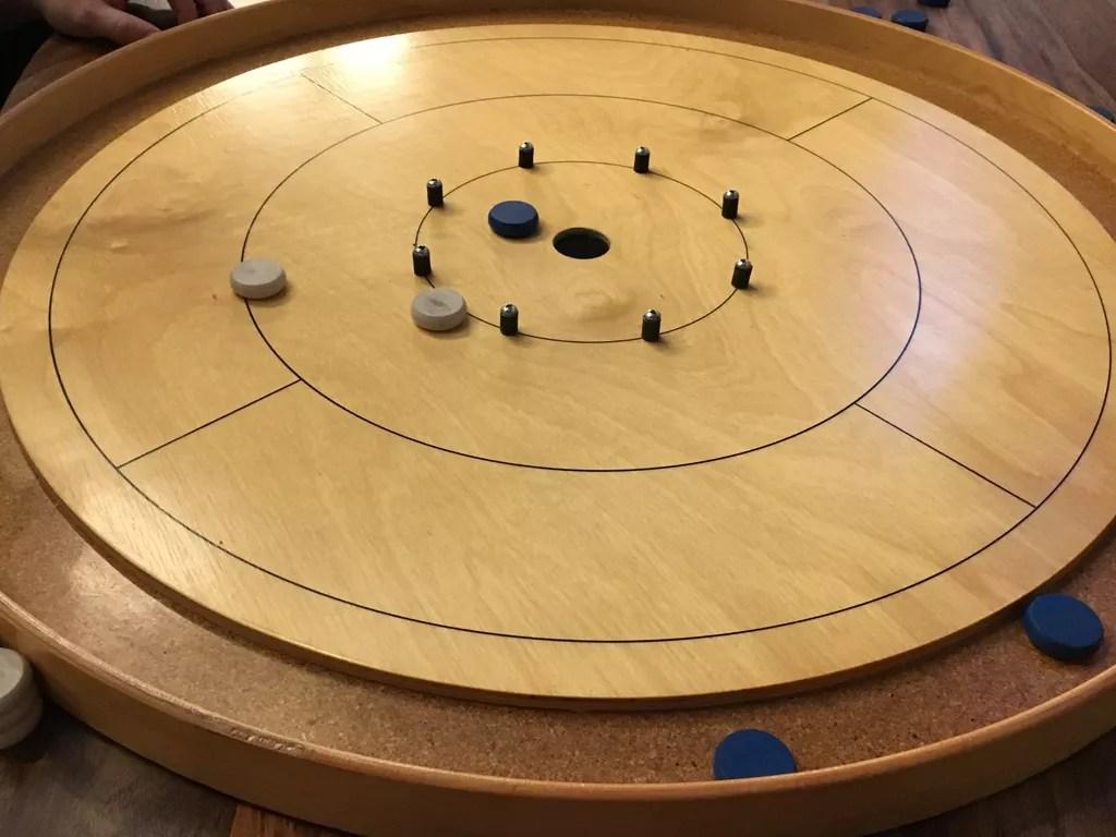 crokinole juego de mesa