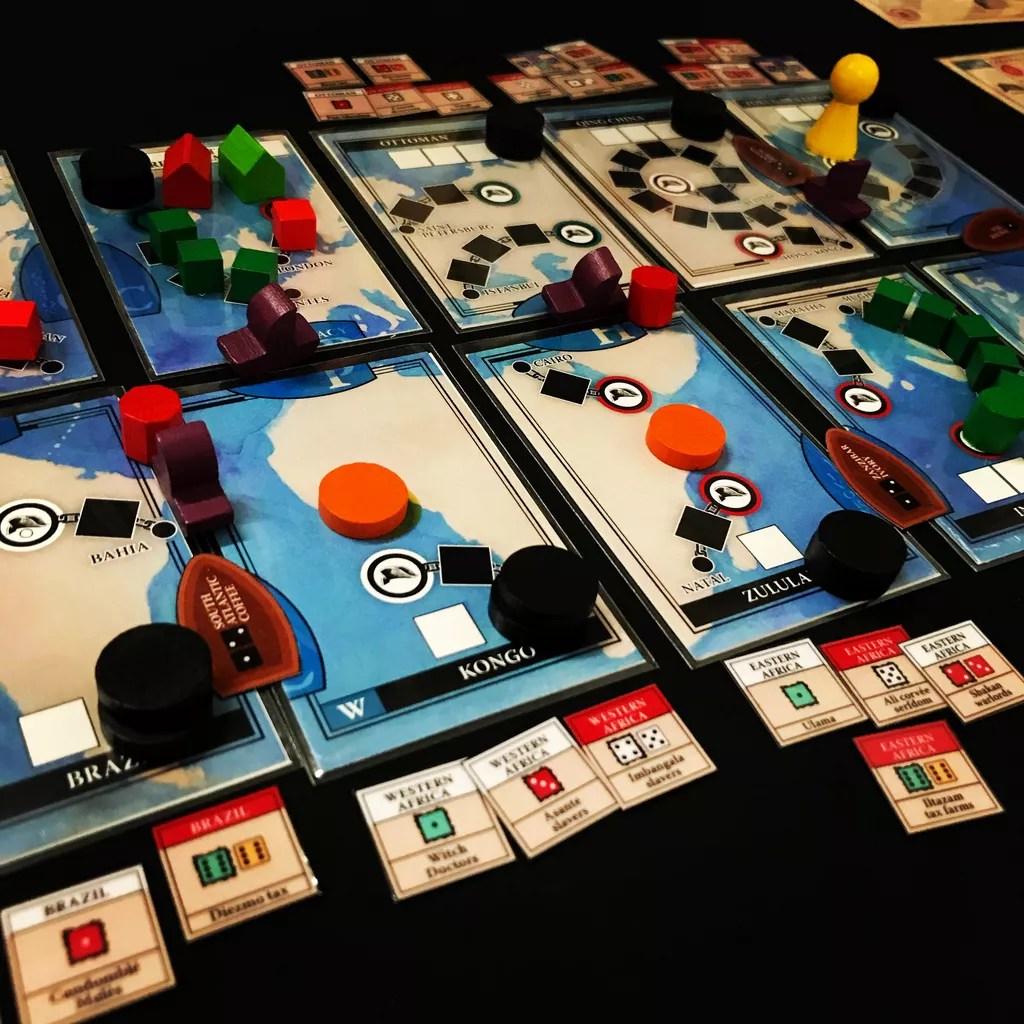 Pax emancipation juego de mesa