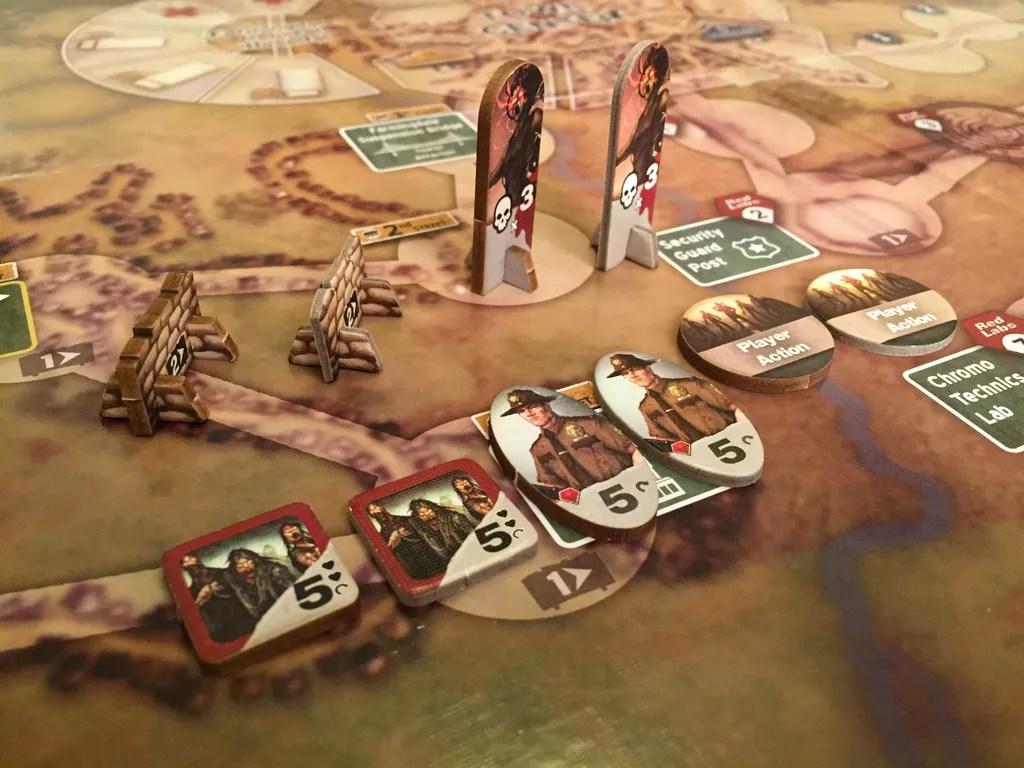 dawn of the zeds juego de mesa