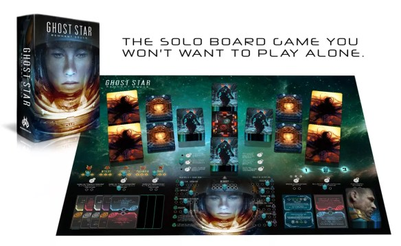 Ghost Star board game