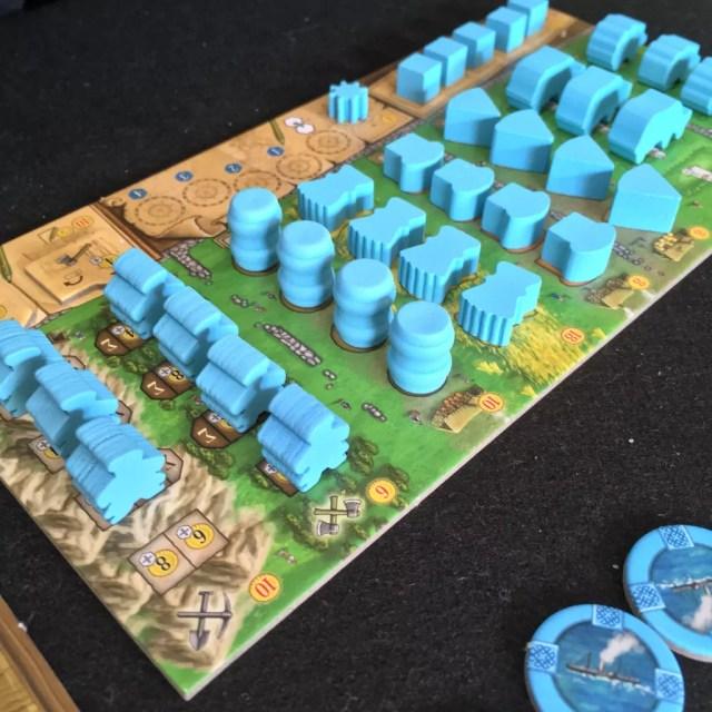 Clanes de caledonia juego de mesa