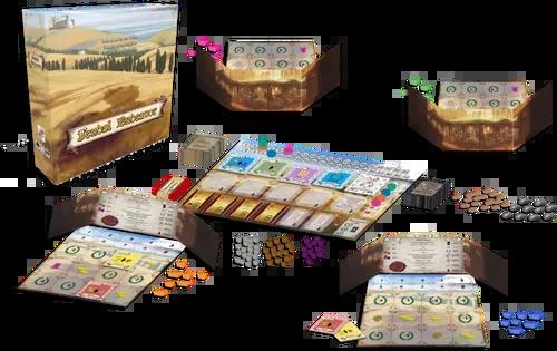 4 Player Game Setup (Digital Render)