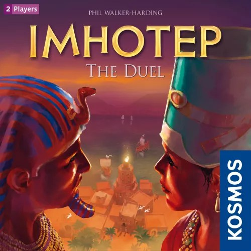 Imhotep: The Duel, KOSMOS, 2019 — front cover (image provided by the publisher)