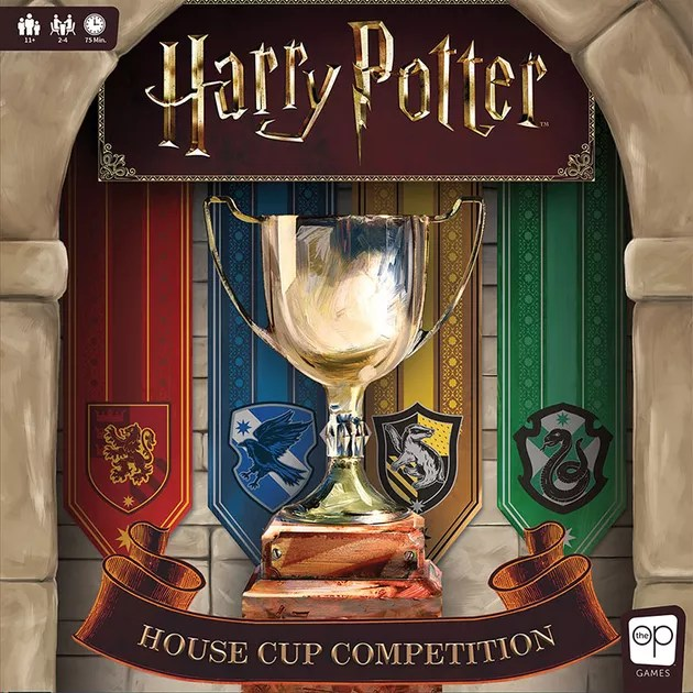 Harry Potter: House Cup Competition | Board Game | BoardGameGeek
