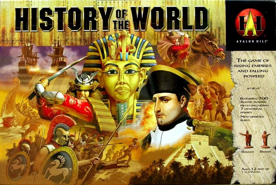 History of the World   Board Game   BoardGameGeek