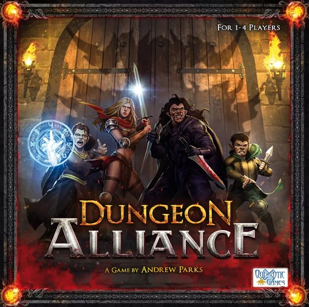Image result for Dungeon Alliance board game