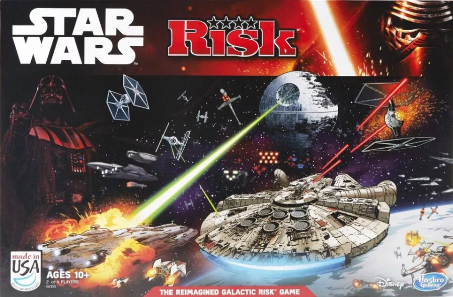 Risk  Star Wars Edition   Board Game   BoardGameGeek